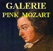 Entrance to GALERIE PINK MOZART